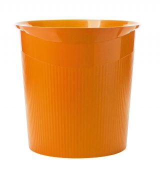 Koš za smeti LOOP, oranžen