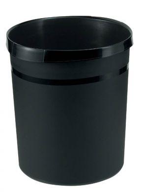 Koš za smeti GRIP črn
