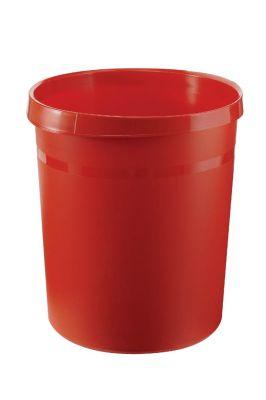 Koš za smeti GRIP rdeč