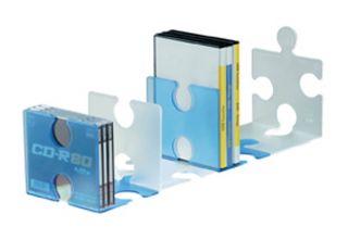 Držalo za knjige/CD-je PUZZLE BARVE