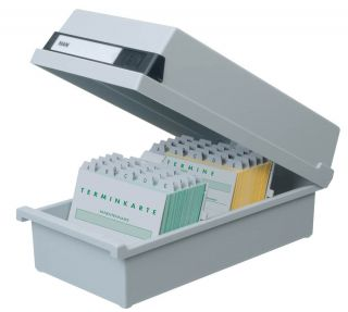 Škatla za kartotečne kartice A5 zaprta