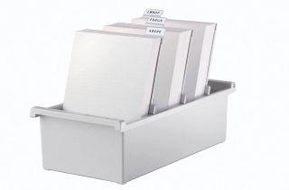 Škatla za kartotečne kartice A7 odprta