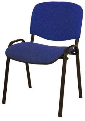 Konferenčni stol tekstil, moder