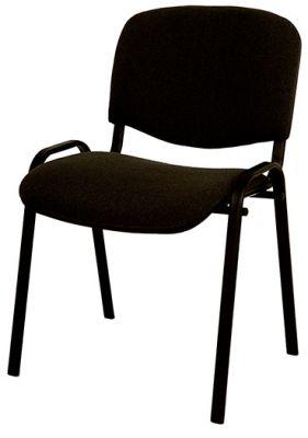 Konferenčni stol umetno usnje, črn