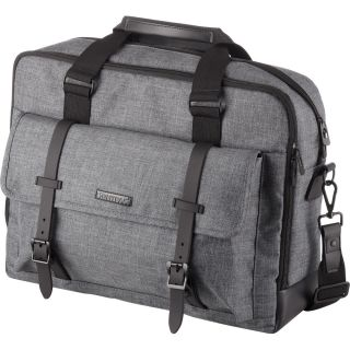 Poslovna torba TWYX, siva