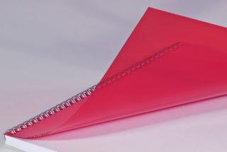 Folija rdeča, A4, 0,15 mm, 100 kos
