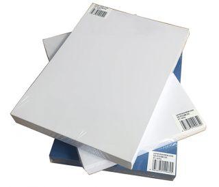 Karton reliefni za vezavo, A4, 230g, bel