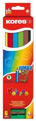 Barvice Jumbo, 6 kos