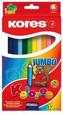 Barvice Jumbo, 12 kos
