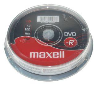 DVD-R 4,7GB 16X 10 na osi