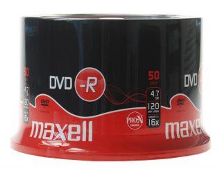 DVD-R 4,7GB 16X 50 na osi