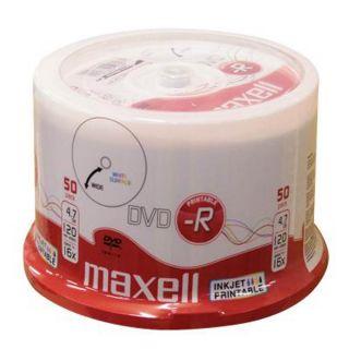 DVD-R 4,7GB 16X 50 na osi printable