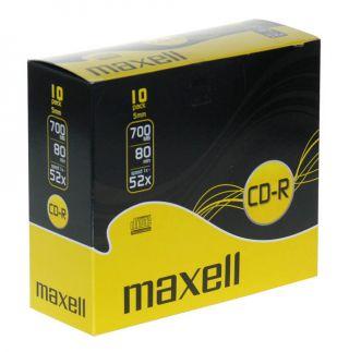 CD-R 700MB XL 52X 10kos 5mm škatlice