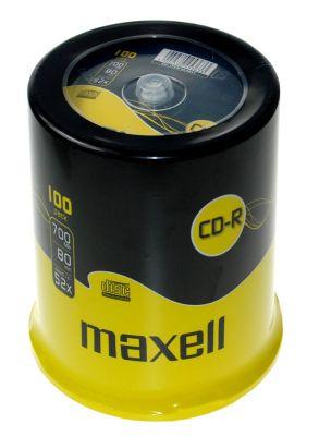 CD-R 700MB XL 52X, 100 na osi