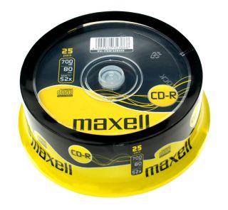 CD-R 700MB 52X 25 na osi