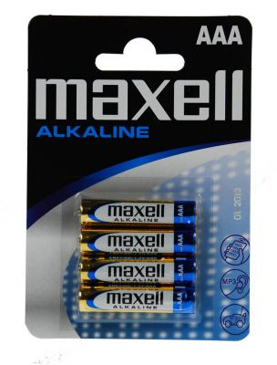 Baterija AAA (LR03), 4 kos, alkalna