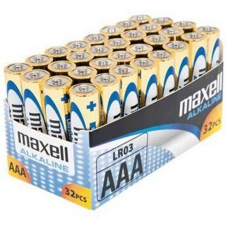 Baterija AAA (LR03), 32 kos, alkalne
