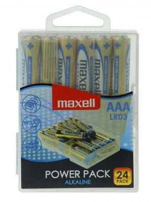 Baterija AAA (LR03), 24 kos, alkalne