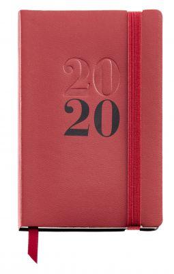 Rokovnik LUXOR 90x140 dan/stran rdeč