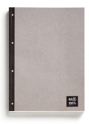 Blok za pisanje s platnico, 100 listov