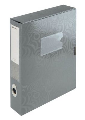 Škatla za dokumente Tai Chi, srebrna