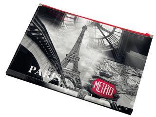 Mapa z zadrgo A4 PARIZ