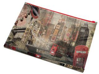 Mapa z zadrgo A4 LONDON